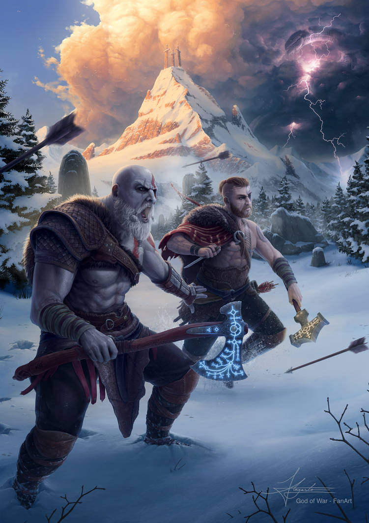 God of War Fan Art - You're ready, Boy!