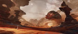 Demors Desert - Alien Desert World