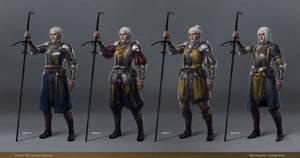 Yvonne - Armor Designs