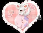 minccino and munna valentine