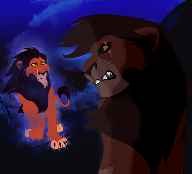 scar and kovu relationship