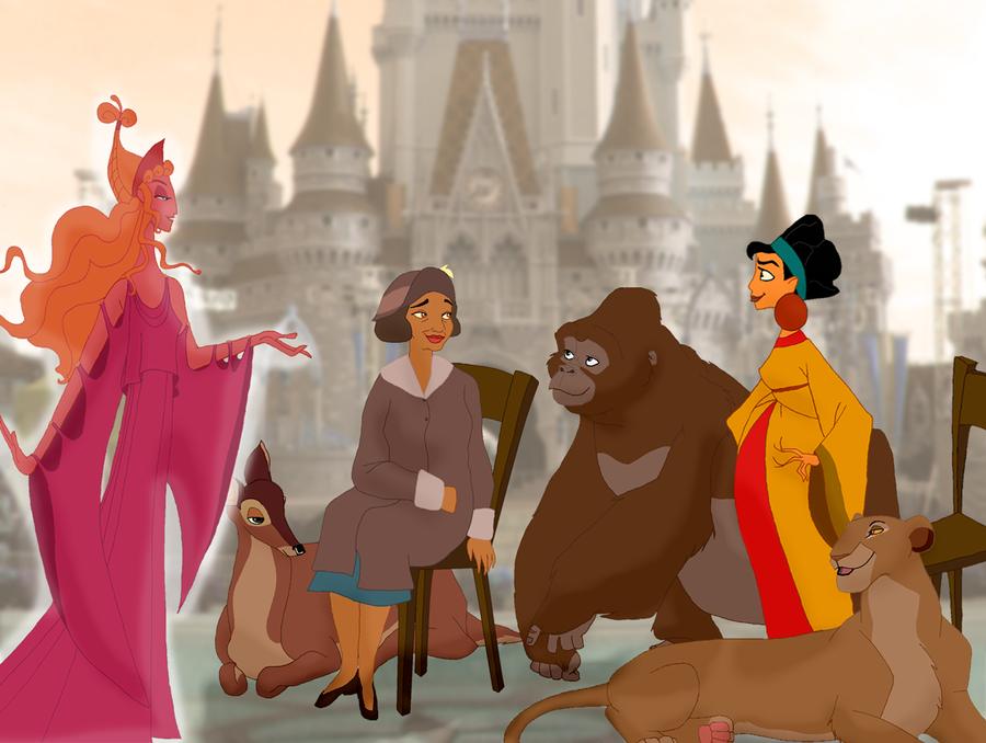 Disney Mothers by Mayshha