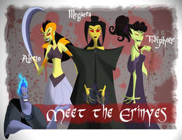 Meet the Erinyes by Mayshha