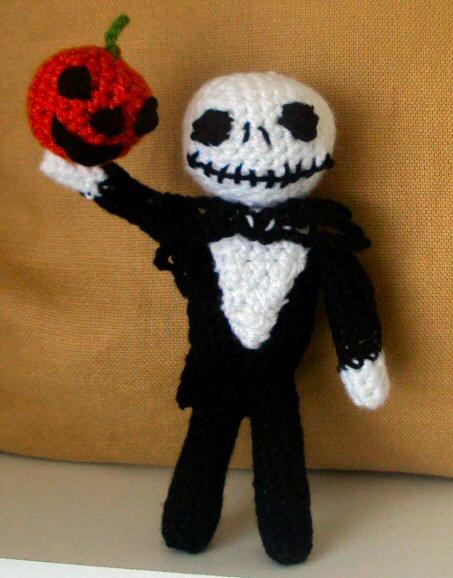 Amigurumi Jack Skellington Crocheted Doll by ...