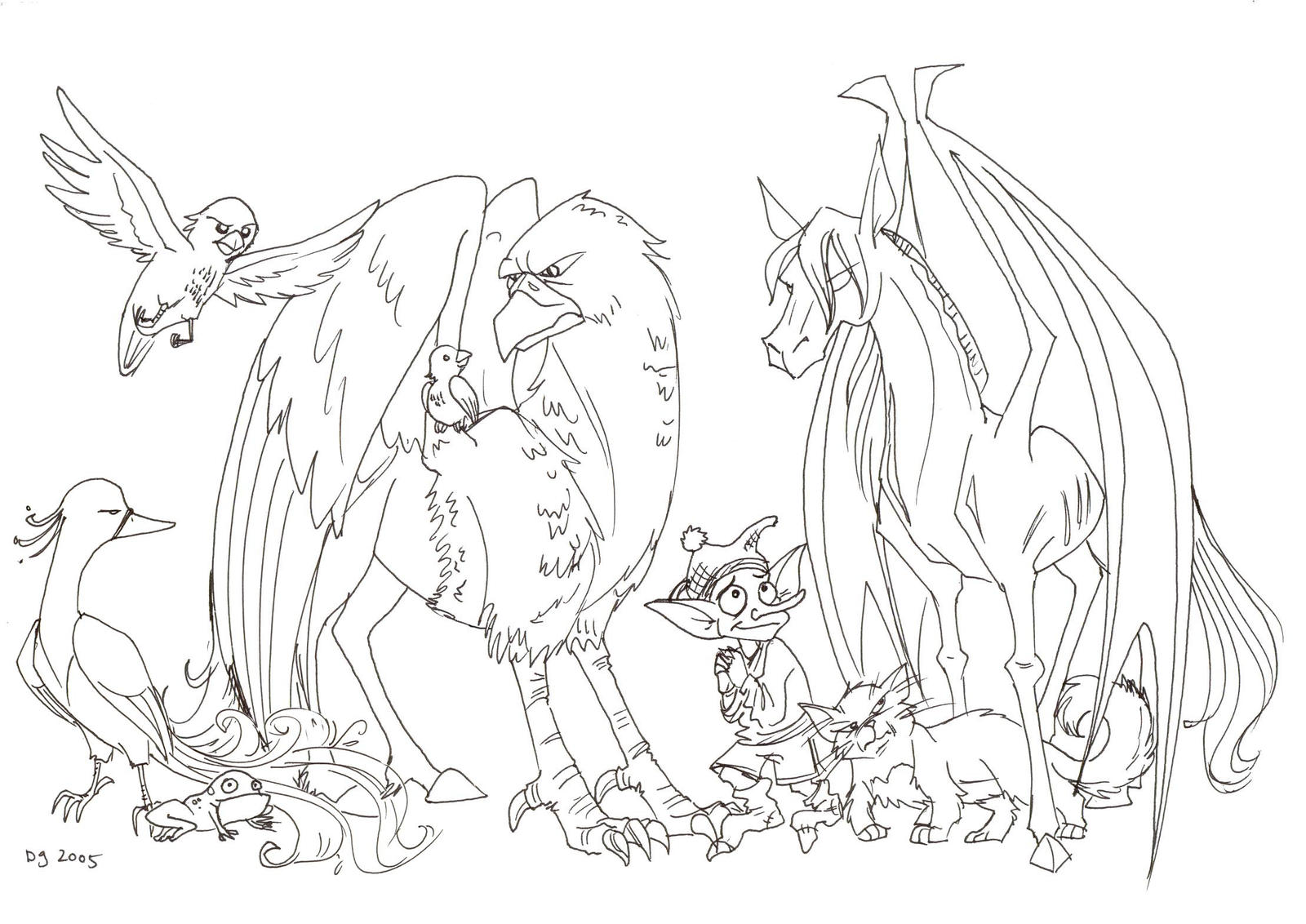 Fantastic Beasts By Kuabci