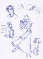 HoND Sketchbook Montage by kuabci