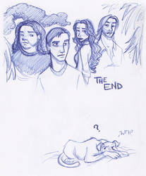 THE END by kuabci