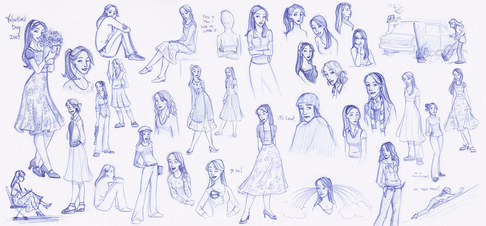 Sketchbook Wife Splat by kuabci