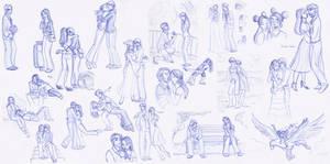 Sketchbook Love Splat