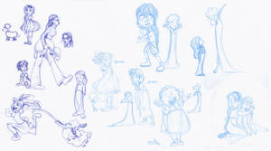 Mary Had a Little Lamb-pire Concepts by kuabci