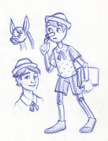Disney Un-Disneyed: Pinocchio by kuabci