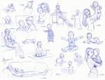 UPDATE:  Baby, Year 1 Sketchbook Splat