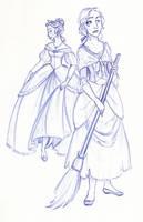 Disney Un-Disneyed: Cinderella by kuabci