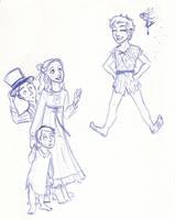 Disney Un-Disneyed: Peter Pan by kuabci