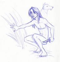 Disney Un-Disneyed: Mowgli by kuabci