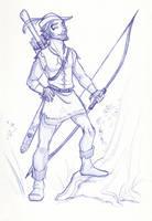 Disney Un-Disneyed:  Robin Hood by kuabci
