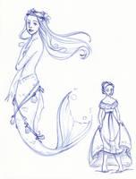 Disney Un-Disneyed: The Little Mermaid (Update) by kuabci