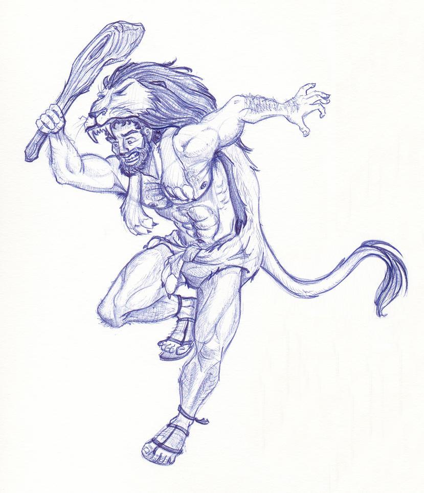 Disney Un-Disneyed:  Hercules by kuabci