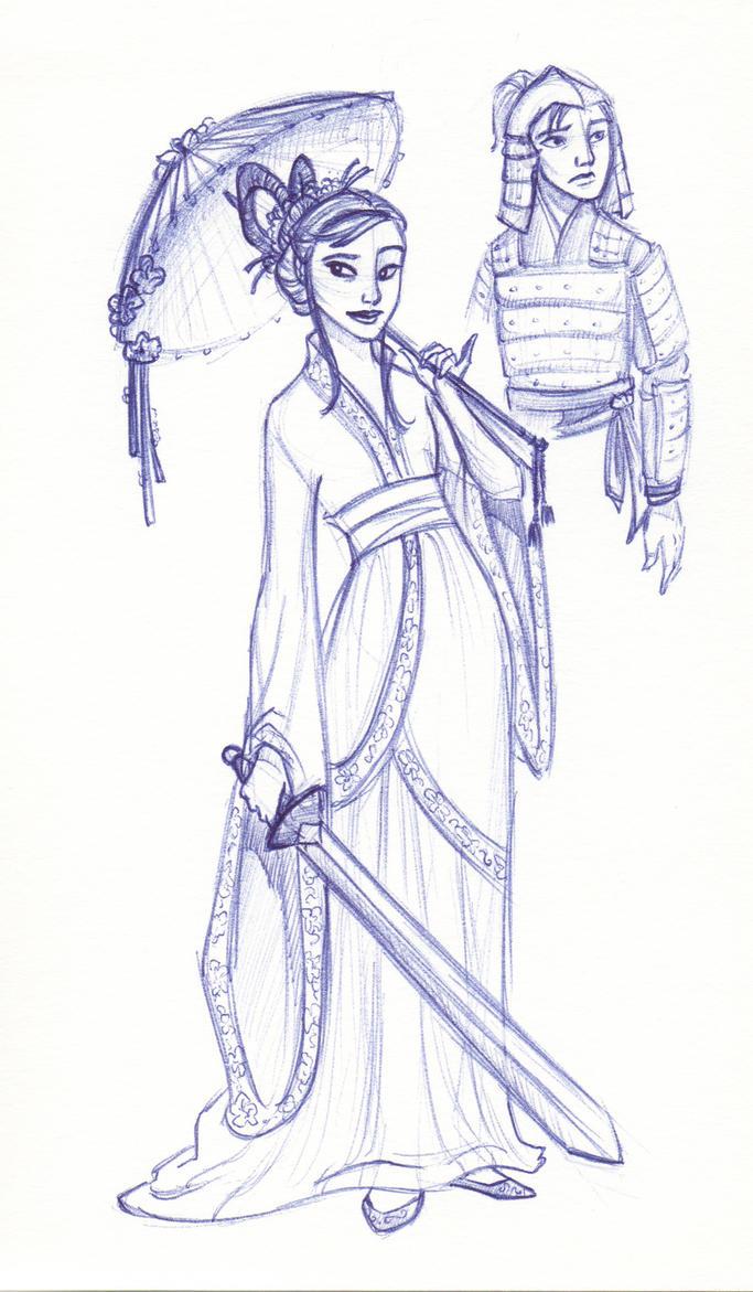 Disney Un-Disneyed:  Mulan by kuabci