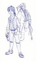 Disney Un-Disneyed: Jim Hawkins and Captain Silver
