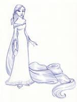 Disney Un-Disneyed: Rapunzel by kuabci