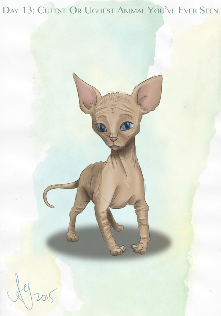 Day 13: Cutest Or Ugliest Animal You've Ever Seen by kuabci