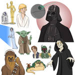 Stars of Wars Episode II:The Painted Stars of Wars