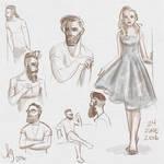 Fresh figure drawings 24 June 2016