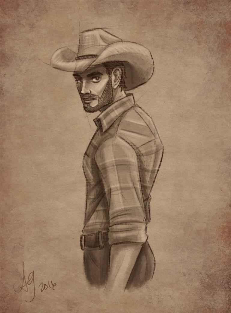 Cowboy by kuabci