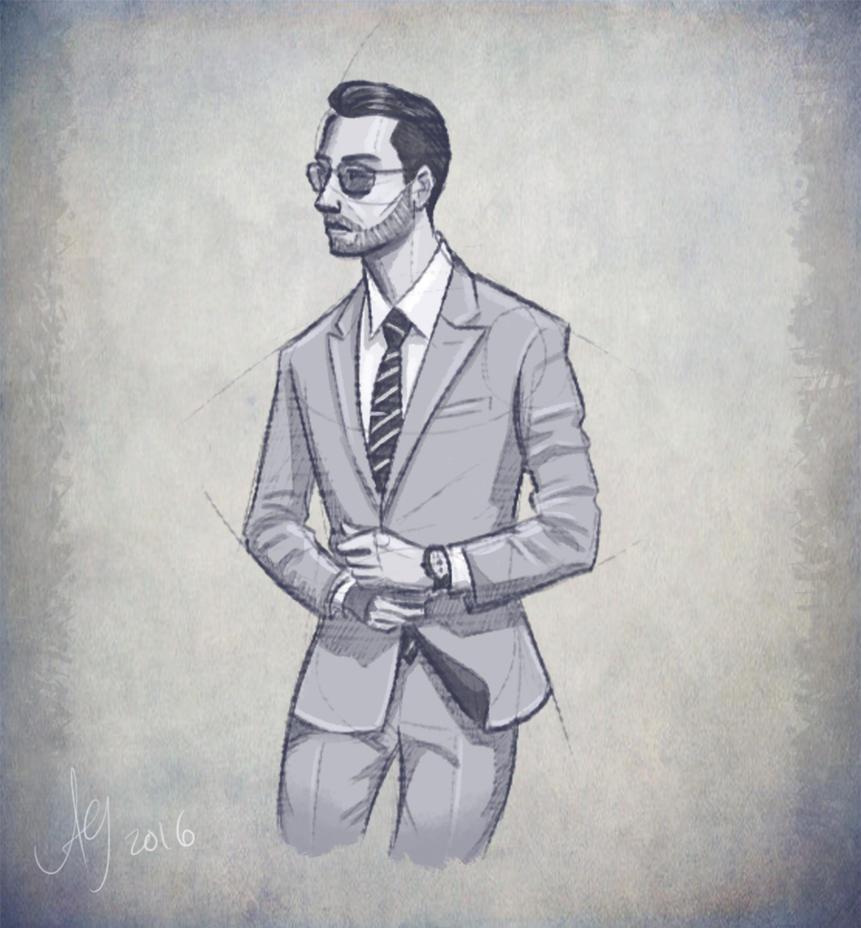 Gentleman by kuabci