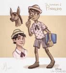 Disney Un-Disneyed: Pinocchio (Painting)