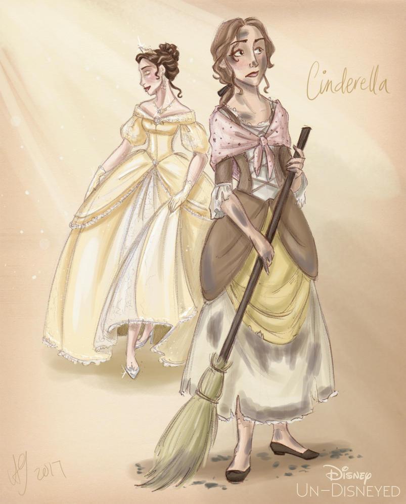 Disney Un-Disneyed: Cinderella (P) by kuabci