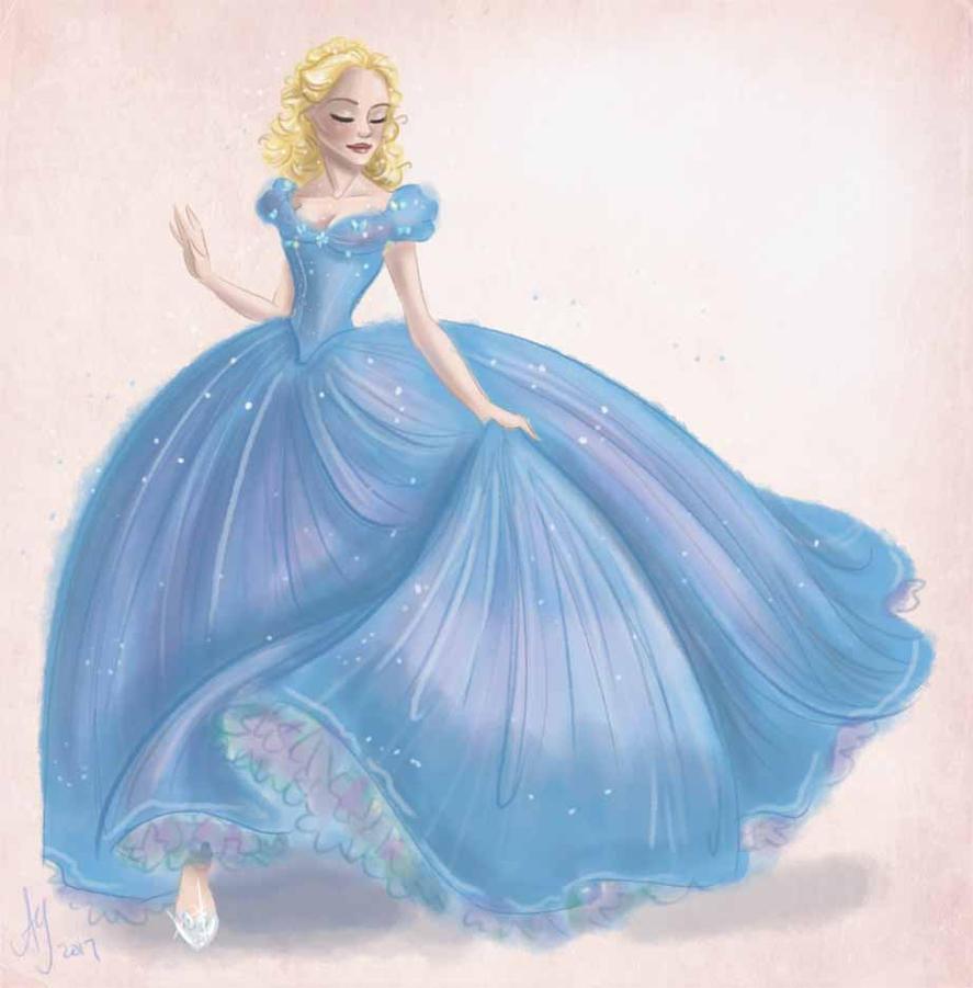 Cinderella 2015 by kuabci