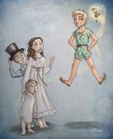 Disney Un-Disneyed: Peter Pan (P) by kuabci