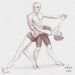 Fresh Figure Drawings 3 March 2017: Figurosity by kuabci