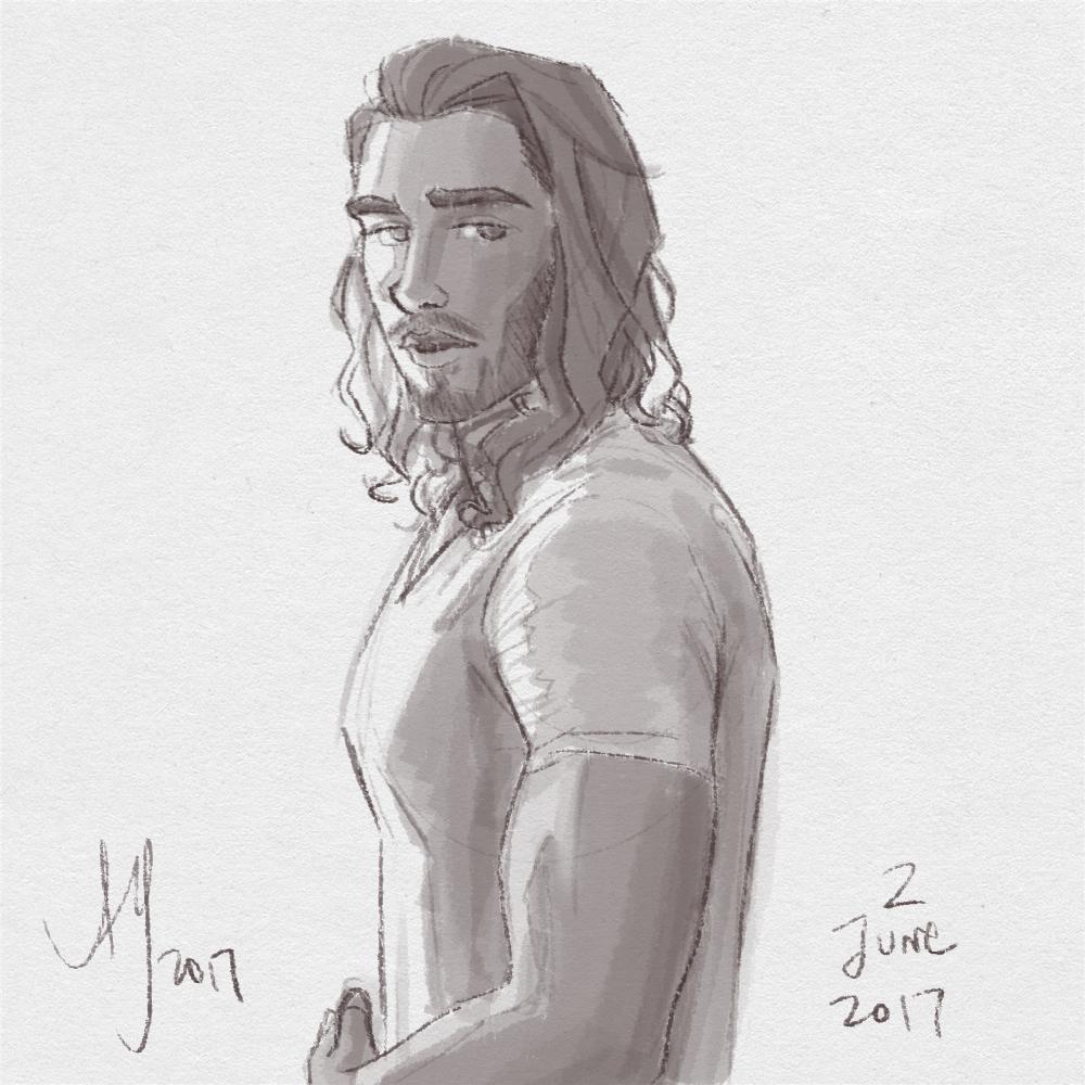 Fresh Figure Drawings 2 June 2017: Matt