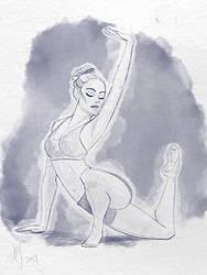 Commission: Rachel by kuabci