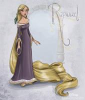 Disney Un-Disneyed: Rapunzel (P) by kuabci