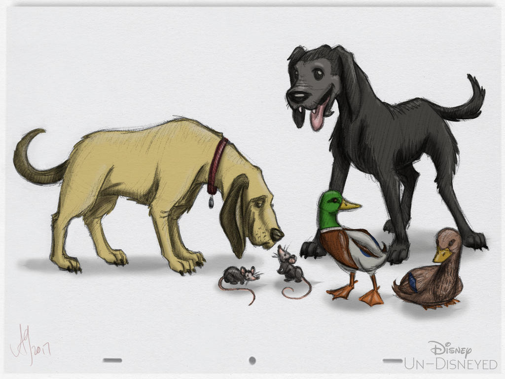 Disney Un-Disneyed In Color: Sensational Six