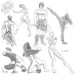 Fresh Figure Drawings 24 March 2018: Lineofaction