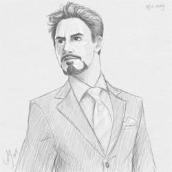 Fresh Figure Drawings 18 May 2018: Mister Stark