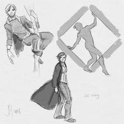 Fresh Figure Drawings 25 May 2018: Willy