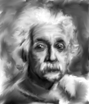 Albert Einstein by nCarbon