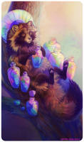 Tarot : KING OF CUPS by leptailurus-serval