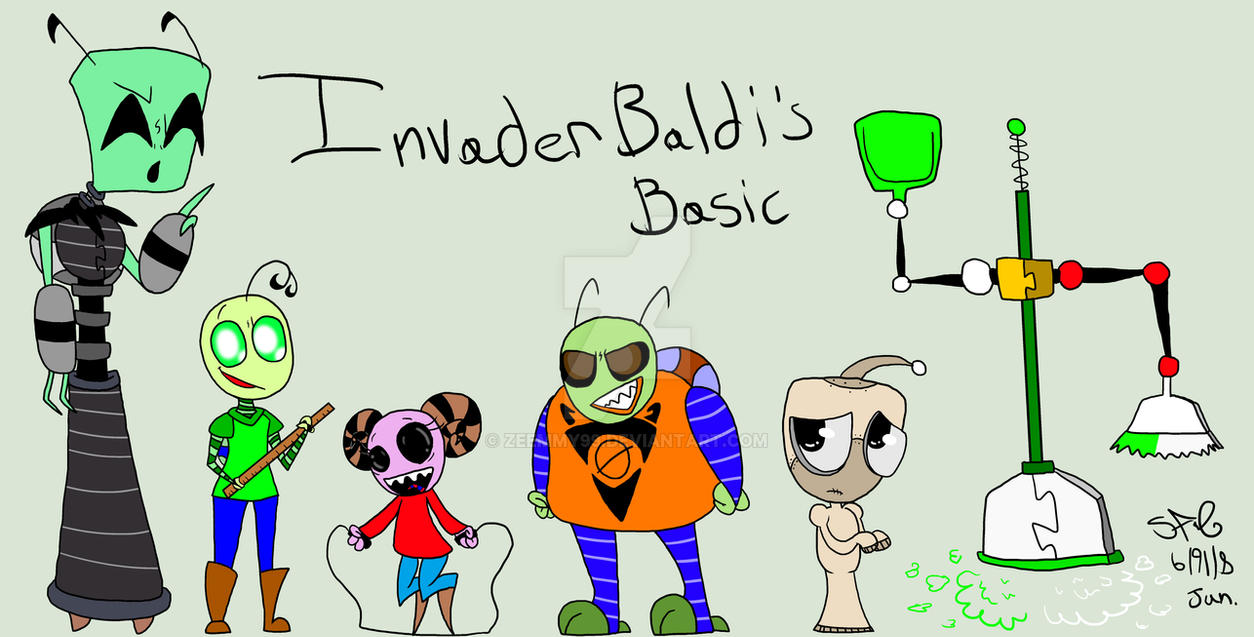 invader baldi s basics by zeemmy99 on deviantart