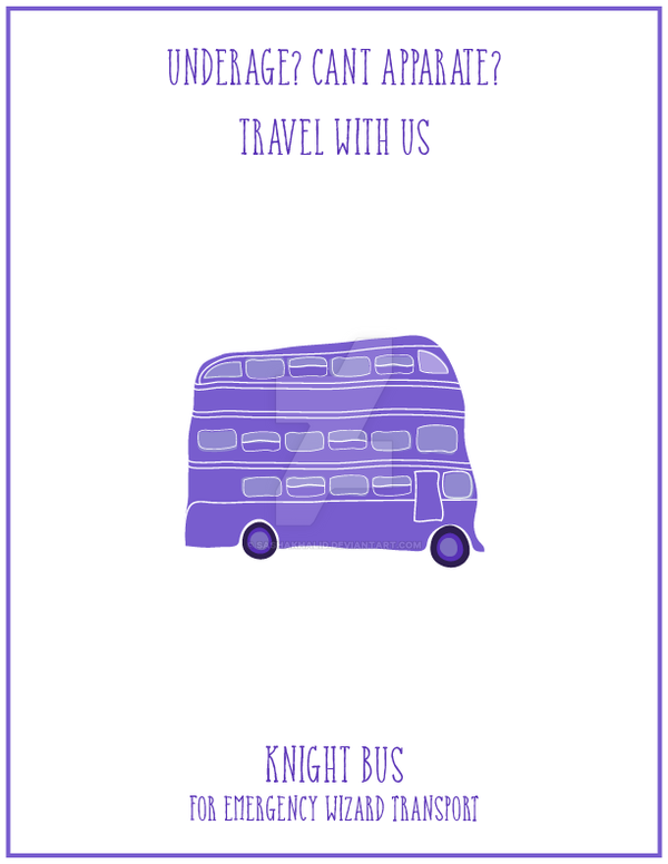 Knight Bus by sashakhalid