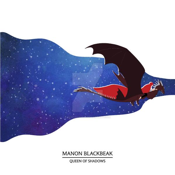 Manon Blackbeak by sashakhalid