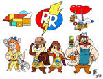 Kingdom Hearts-Style Rescue Rangers
