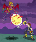 Sora vs. Sunset Shimmer