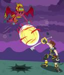 Sora vs. Sunset Shimmer